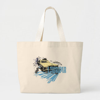 Light Lincoln Lowrider Large Tote Bag