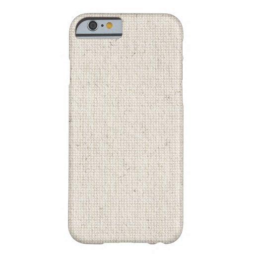 Light Linen Background iPhone 6 Case
