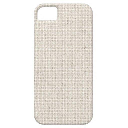 Light Linen Background iPhone 5 Cases