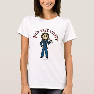 Light Mechanic Girl T-Shirt