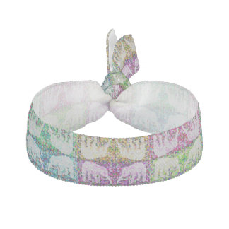 Light Mirrored Elephants Hair Tie