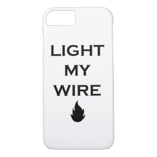 Light My Wire Funny Nerdy Phone Case