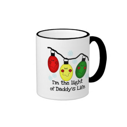Light of Daddy's Life Holiday Tshirts and Gifts Coffee Mugs