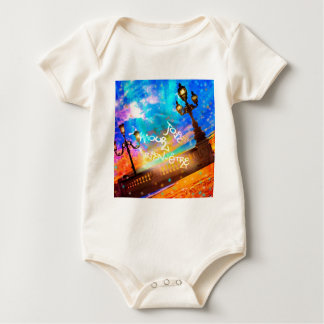 Light of joy and amour baby bodysuit