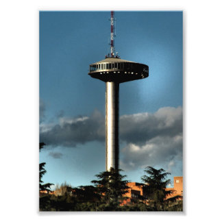 Light of Moncloa, Madrid Photo Print