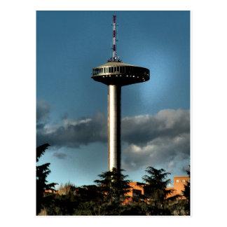 Light of Moncloa, Madrid Postcard