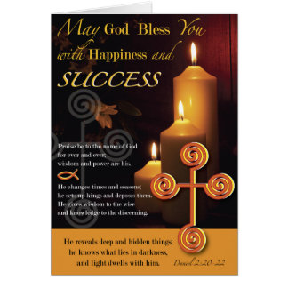 Light of the Lord Success Card