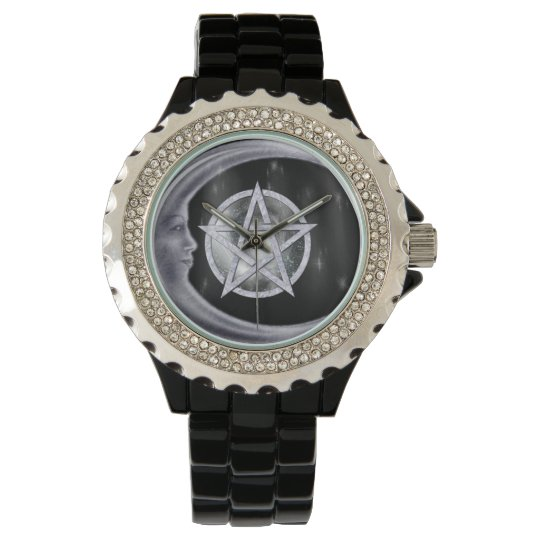 Light of the Moon WICCA New Age Wrist Watch