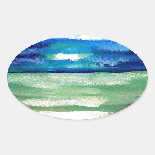 Light of the Sea - CricketDiane Ocean Art Sunlight Stickers