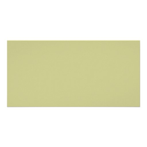 Light Olive Color Picture Card