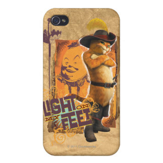 Light On My Feet Cases For iPhone 4
