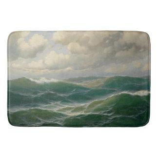 Light on Waves Ocean Sea Bath Mat