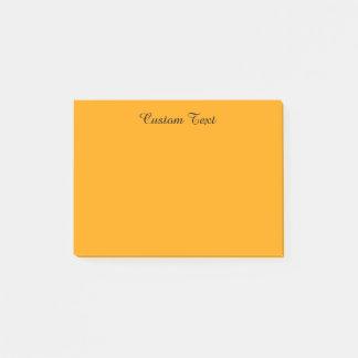 Light Orange Post-it Notes