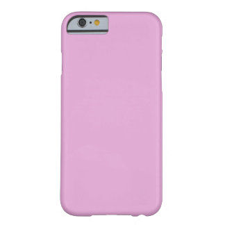 Light Orchid Pink Barely There iPhone 6 Case