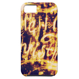 Light Painted Xmas Greeting Case For The iPhone 5