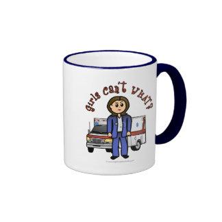 Light Paramedic Girl Coffee Mug