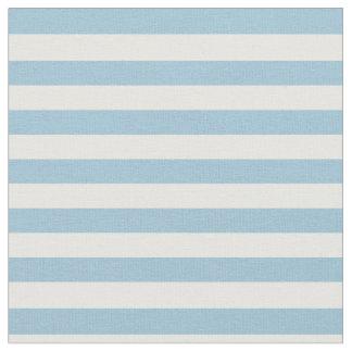 Light Pastel Blue & White Striped Fabric