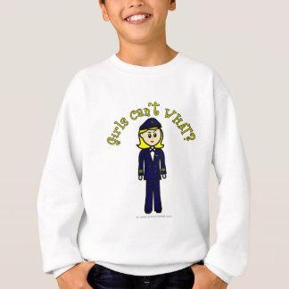 Light Pilot Girl Sweatshirt