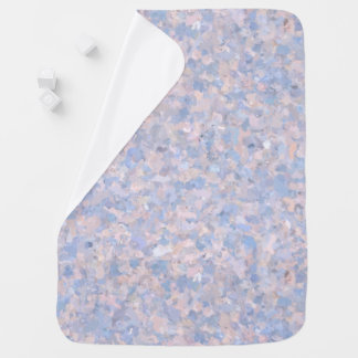 Light pink and blue popcorn 4647 baby blanket