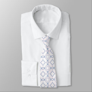 Light Pink and White Pattern Tie