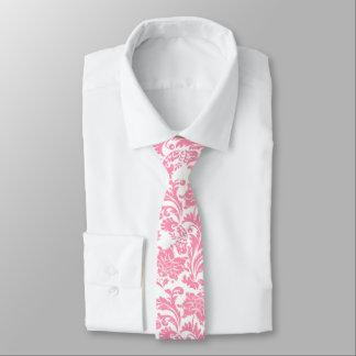 Light Pink And White Vintage Floral Damasks