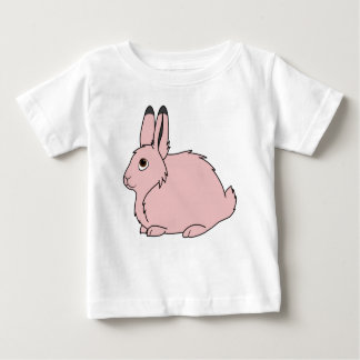 Light Pink Arctic Hare Baby T-Shirt