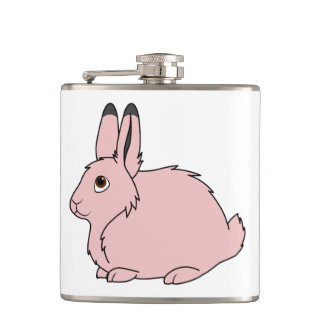 Light Pink Arctic Hare Flasks