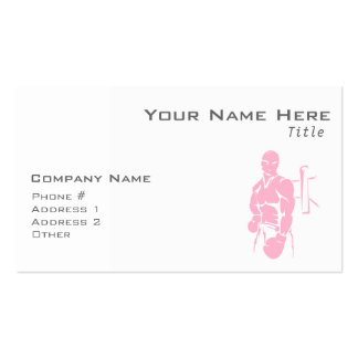 Light Pink Boxing Pack Of Standard Business Cards