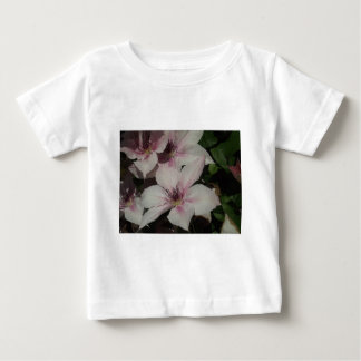 Light Pink Clematis Blossom Tee Shirt