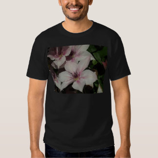 Light Pink Clematis Blossom Tshirts