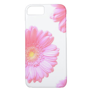 Light pink gerbera daisy iPhone 7 case