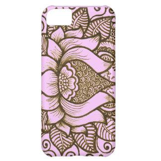 light pink henna design Case-Mate iPhone case