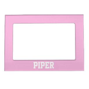 Light Pink Magnetic Frame