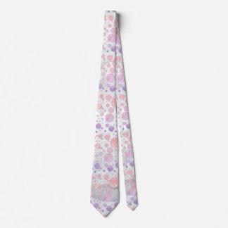 Light Pink Polka Dot Pattern Tie