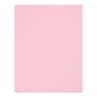 Light Pink Polka Dot Scrapbook Paper