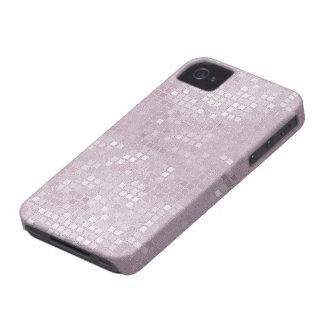 Light Pink Sequin Effect Phone Cases