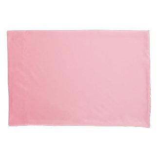 Light Pink Single Pillowcase, Standard Size Pillowcase