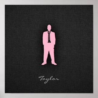 Light Pink Swag Print