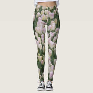 Light Pink Tulips Legging