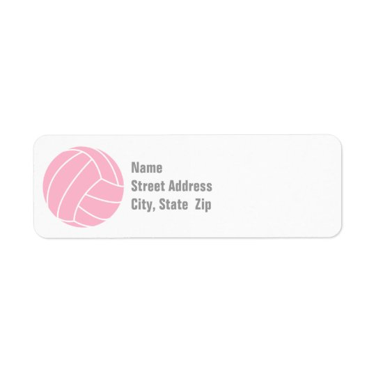 Light Pink Volleyball