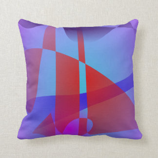 Light Purple and Red Pillows