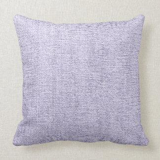 Light Purple Elegant Canvas Look Throw Pillows