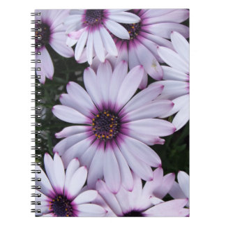 Light Purple Flower Bouquet Notebook