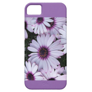 Light Purple Flowers with Purple Background iPhone 5 Cover