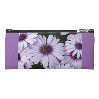 Light Purple Flowers with Purple Background Pencil Case