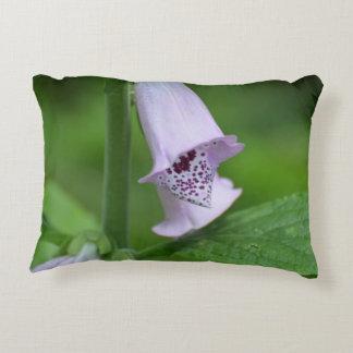 Light Purple Foxglove Accent Pillow