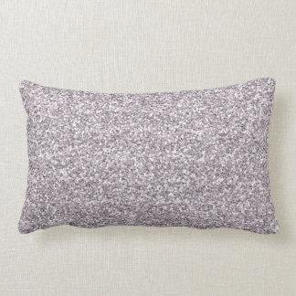 Light Purple Glitter Pillows