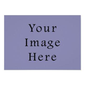 """Light Purple Haze Color Trend Blank Template 5"""" X 7"""" Invitation Card"""