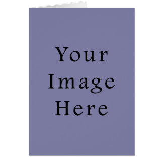 Light Purple Haze Color Trend Blank Template Greeting Card