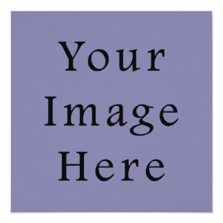 "Light Purple Haze Color Trend Blank Template 5.25"" Square Invitation Card"